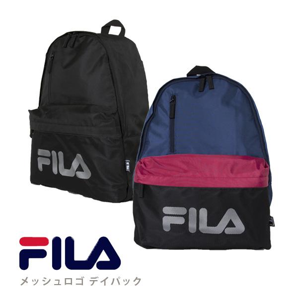 CONOMi  FILA mesh logo day pack   rucksack D pack school bag student ... 7bb07758d0