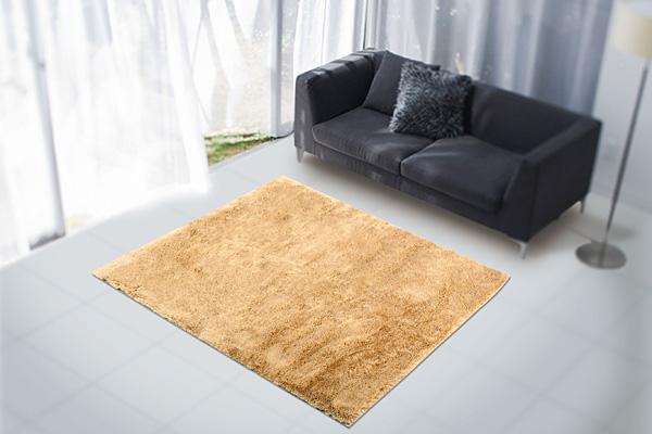 アスワンラグ ライオン 200cm×200cm