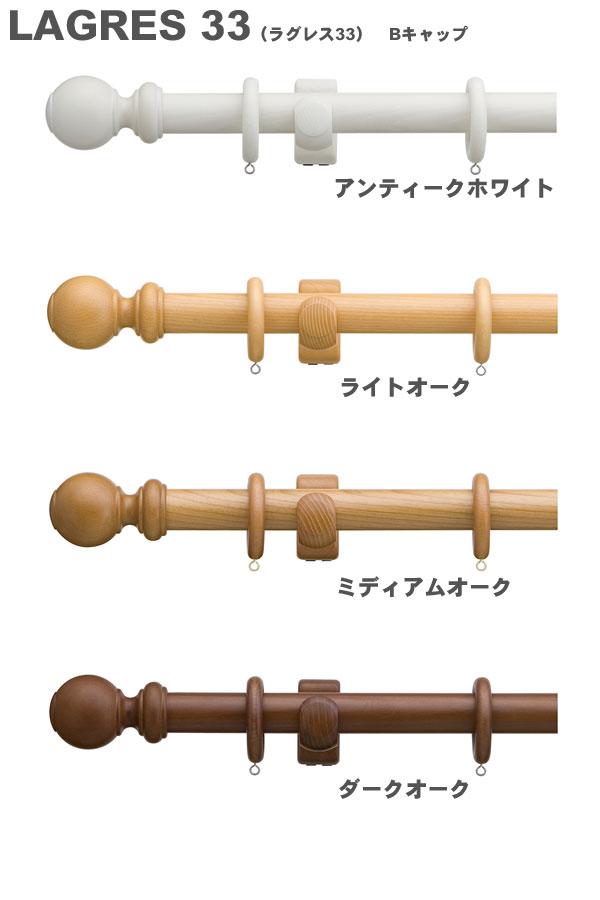 TOSO カーテンレール ラグレス33 3.1m シングルBセット【送料無料】