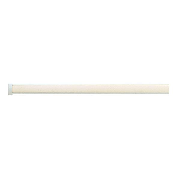 ピクチャーレール ~3mオーダーサイズセット ウォームホワイト インテリアハンガー(ワイヤータイプA)付き