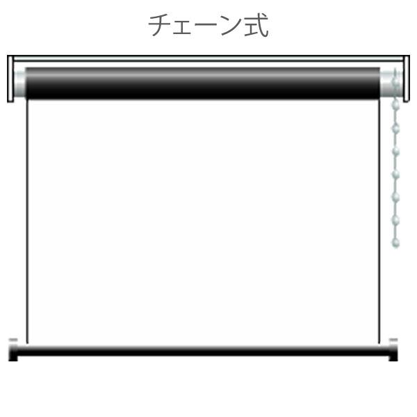 プロジェクター スクリーン ホームシアターに最適 100インチ ハイビジョン 既製サイズ ロールタイプ 送料無料!【送料無料】