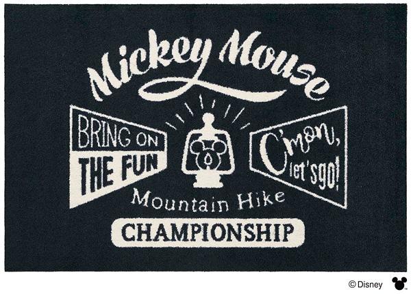 Disney Mat Collection マット Mickey/ミッキーマウンテンハイク 60cm×90cm(ディズニーのマット)