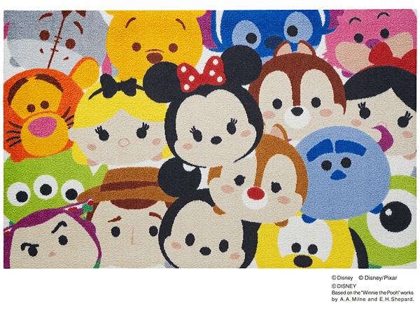 Disney Mat Collection マット Tsum Tsum/ツムツム 75cm×120cm(ディズニーのマット)