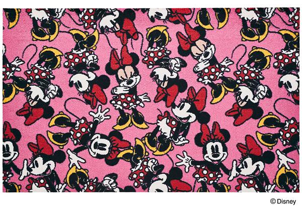 Disney Mat Collection マット Minnie/ミニー 75cm×120cm(ディズニーのマット)