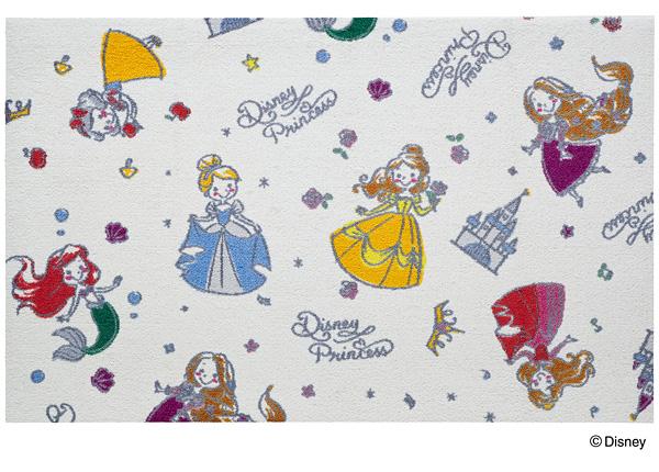 Disney Mat Collection マット Princess/プリンセス 75cm×120cm(ディズニーのマット)