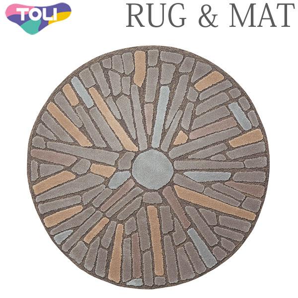 東リ ラグ TOR3822 140cm×140cm 円形