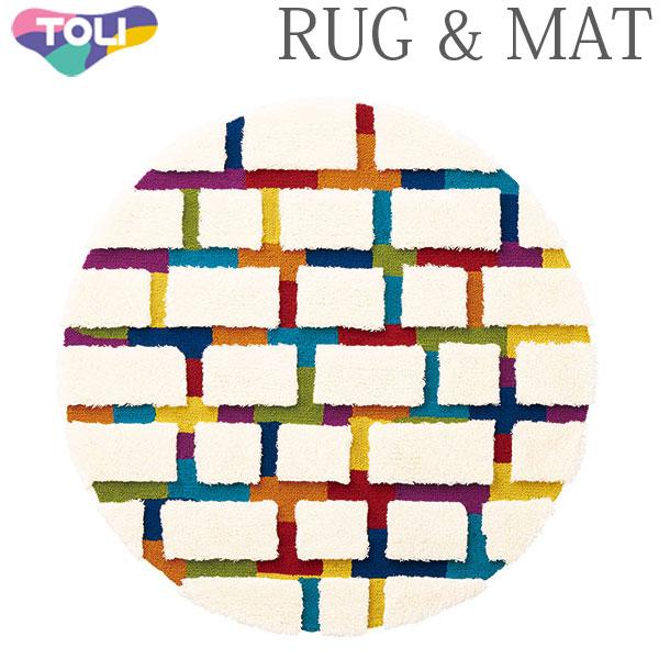 東リ ラグ TOR3847 140cm×140cm 円形