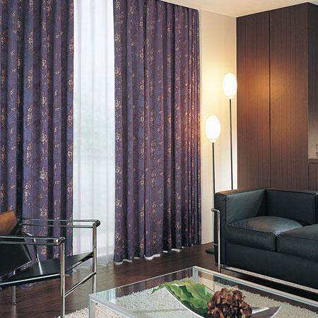 カーテン オーダーカーテン リヨン織物美術館 東リ プラスボヌール KTB5102 フラット縫製(FT) 幅389~524cm×丈161~180cm