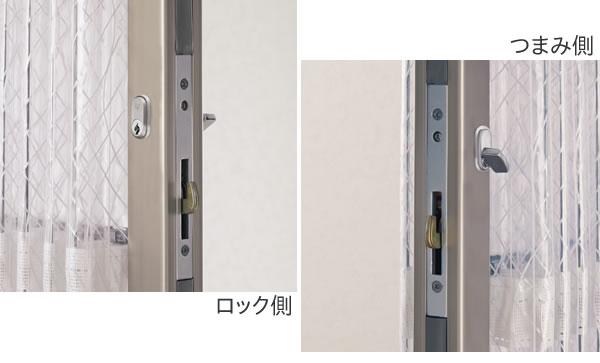 TOSO アコーデオンドア クローザーエクセル用 ロック式仕様 片開き(オプション)