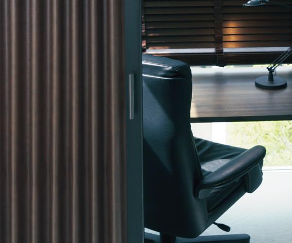 TOSO アコーディオンドア(アコーディオンカーテン) クローザーエクセル リーガル 幅55~90cm×丈171~180cm