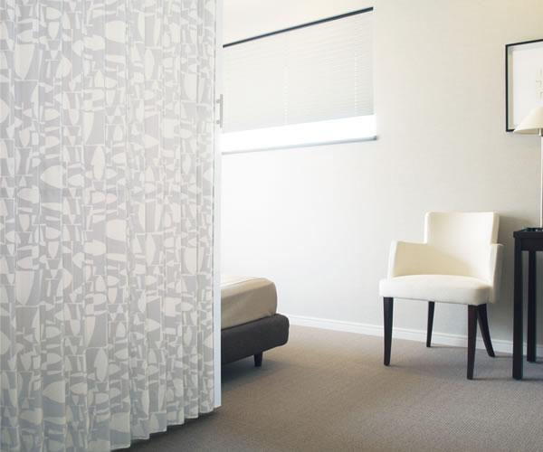 TOSO アコーディオンドア(アコーディオンカーテン) クローザーライト ニュートレシー 幅151~175cm×丈161~180cm