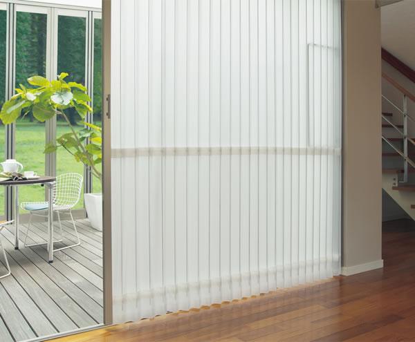 TOSO アコーディオンドア(アコーディオンカーテン) クローザーエクセル シャドー 幅241~270cm×丈231~240cm
