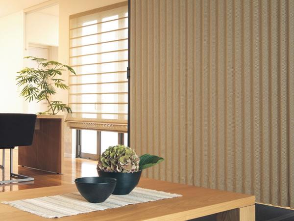 TOSO アコーディオンドア(アコーディオンカーテン) クローザーエクセル アジロ 幅55~90cm×丈211~220cm