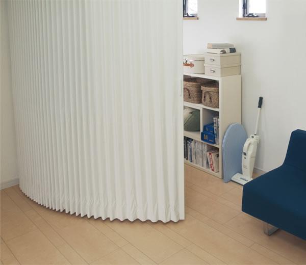 TOSO アコーディオンドア(アコーディオンカーテン) クローザーエクセル セレクト 幅121~150cm×丈231~240cm