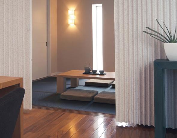 トーソー アコーディオンドア (アコーディオンカーテン) クローザーエクセル グレーベル/フリージェ 幅271~300cm×丈211~220cm TOSO