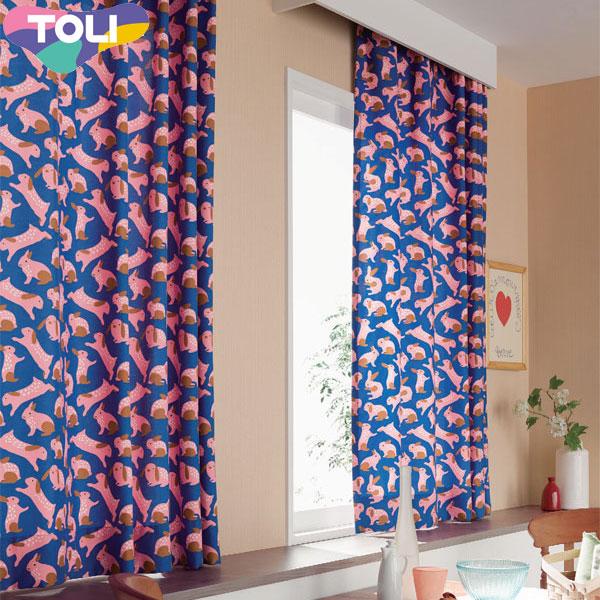 東リ オーダーカーテン フフル TKF10047 カジュアル カーテン フラット縫製 幅564~708cm×丈121~140cm