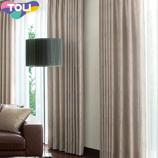 東リ オーダーカーテン フフル TKF10096 モダン カーテン フラット縫製 幅50~126cm×丈141~160cm