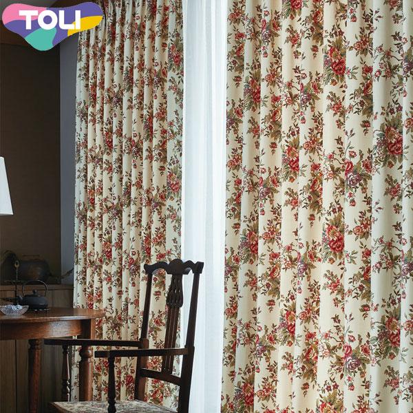 東リ オーダーカーテン フフル TKF10200 エレガンス カーテン フラット縫製 幅50~126cm×丈141~160cm