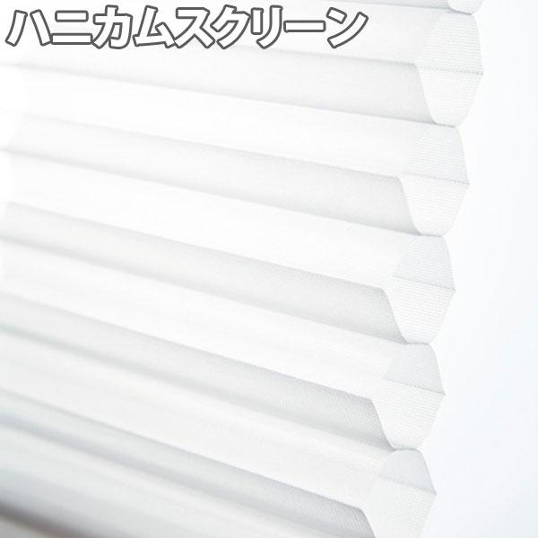 ニチベイ ハニカムスクリーン レフィーナ シュピエ(非防炎) シングルスタイル チェーン式 幅121~160cm×丈141~180cm