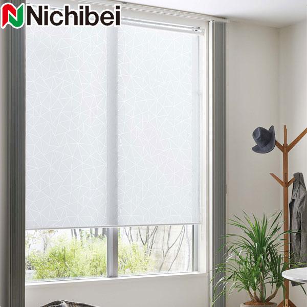 ニチベイ ロールスクリーン ソフィ クリスタルオパール 標準仕様 N9224 幅31~50cm×丈251~300cm