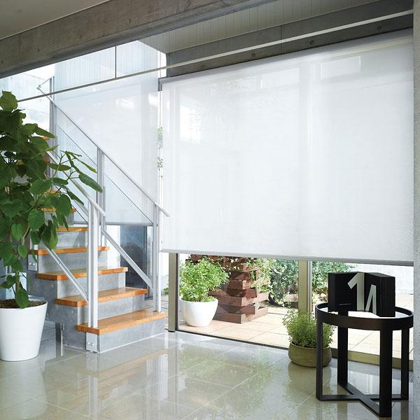 ロールスクリーン ニチベイ ヘイズ ロールカーテン 幅121~160cm×丈251~300cm