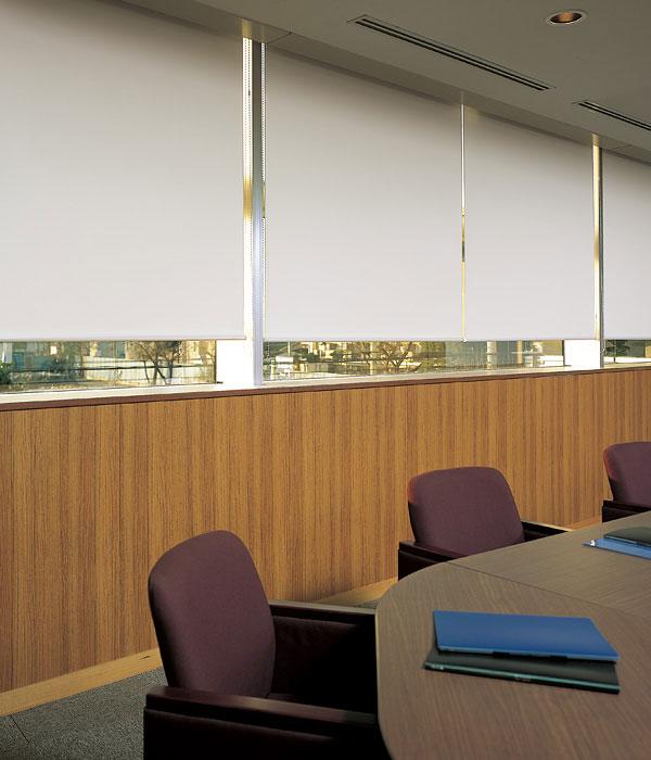 ロールスクリーン ニチベイ グラミネート ロールカーテン 幅121~160cm×丈10~49cm