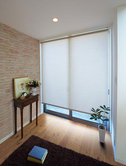 ロールスクリーン ニチベイ クオーレ ウォッシャブル ロールカーテン 幅31~50cm×丈251~300cm