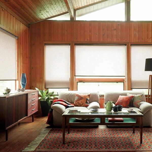 ロールスクリーン ニチベイ ファーシル ウォッシャブルタイプ ロールカーテン 幅121~160cm×丈401~450cm