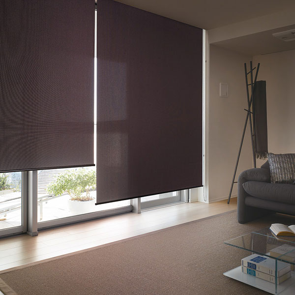 ロールスクリーン ニチベイ ジャレツ ウォッシャブルタイプ ロールカーテン 幅81~120cm×丈351~400cm