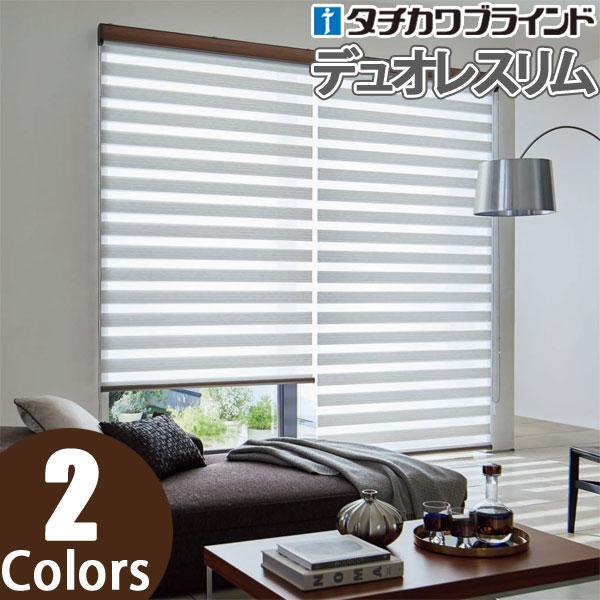 デュオレスリム ロールスクリーン タチカワ エクーレ RS-501~RS-502 幅161cm~200cm×丈201cm~250cm ロールカーテン