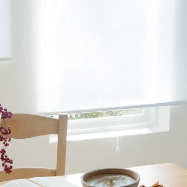 ロールスクリーン タチカワブラインド ラルクシールド rs7609~rs7611 ネージュ 標準タイプ 幅161~200cm×丈401~450cm ロールカーテン オーダー 日本製 送料無料