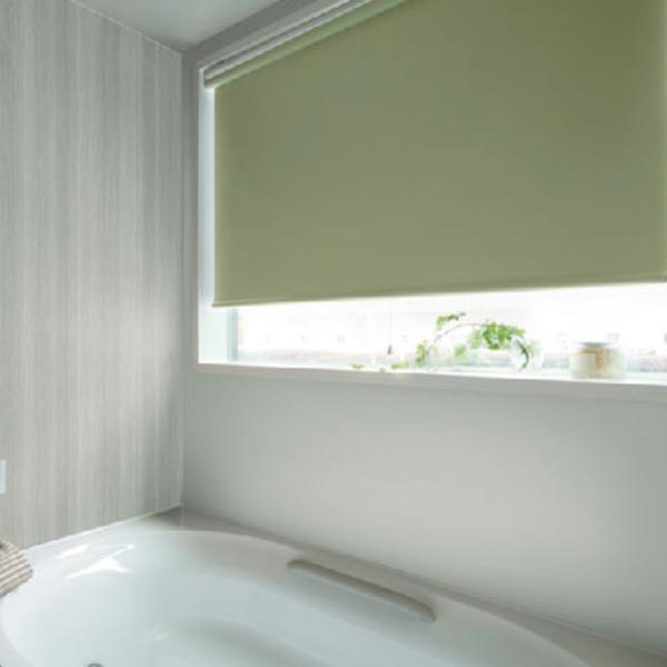 ロールスクリーン タチカワブラインド ラルク浴室タイプ rs7780~rs7794 ミント 幅121~160cm×丈30~49cm ロールカーテン オーダー 日本製 送料無料