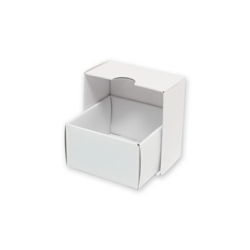 ゆうパケット対応 2束まで送料200円 HEIKO 箱 海外限定 デラックス白無地箱 公式 A-1 エスプリ 10枚 アクセサリーS