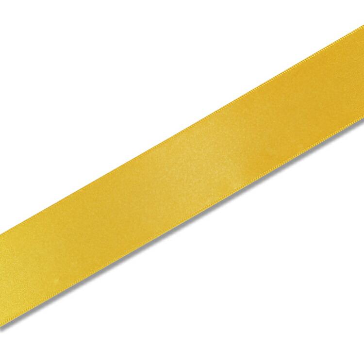 HEIKO 在庫あり シングルサテンリボン 高品質 カナリア 36mm幅×20m巻