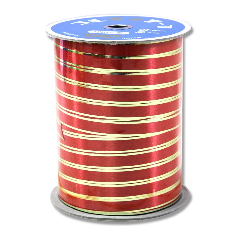 人気商品 HEIKO 紐 大決算セール コルラメテープ レッド