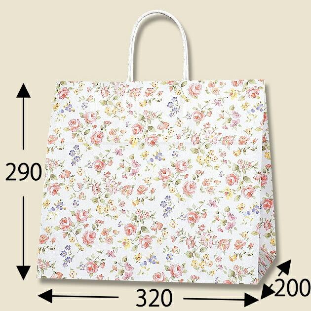 HEIKO 紙袋 25チャームバッグ 25CB ロマネスク 安全 売れ筋 32-4 50枚