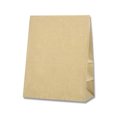 HEIKO 紙袋 角底袋 ケーキバッグ 小 日本メーカー新品 アウトレット 未晒無地 100枚