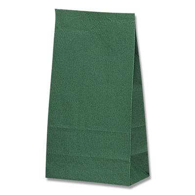 HEIKO 紙袋 角底袋 未晒無地緑 販売 レビューを書けば送料当店負担 No.6 100枚
