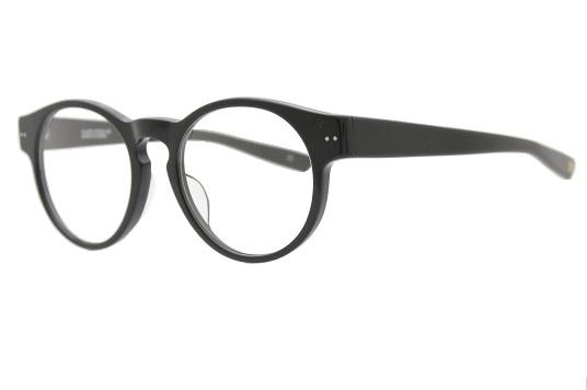 【伊達メガネOK】【レンズ別売】 K-007S 49 C-4 【kitson】 ブラック(黒)