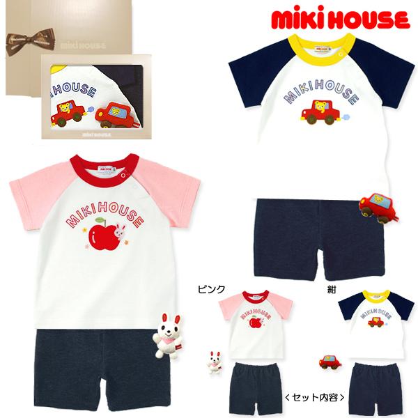 ミキハウス(MIKIHOUSE)【14夏】【BOX M付】プッチー&うさこ☆半袖Tシャツセット