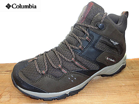送料無料 Columbia コロンビアYM5259-231 コードバンSABER 3 MID OMNI-TECHセイバー3 ミッド オムニテックメンズ トレッキング アウトドア 登山靴 ハイキング