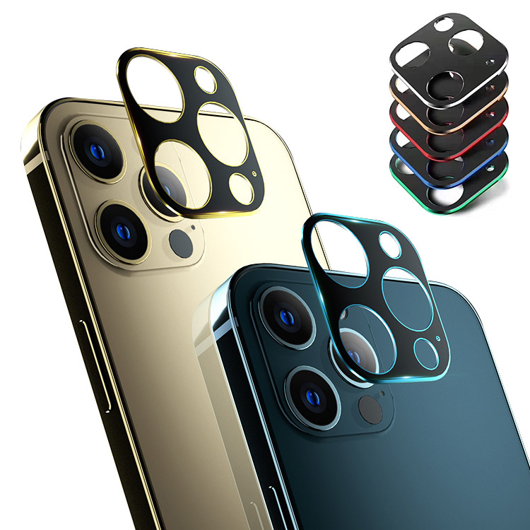 アップル アイフォン12 12ミニ 12プロ 12プロマックス 用のカメラレンズ保護リングカバー レンズ 本日の目玉 プロテクター Apple iPhone12 ファッションリング 保護 カメラレンズ メタルリング Max メーカー直送 mini 12 Pro レンズカバー ベゼル