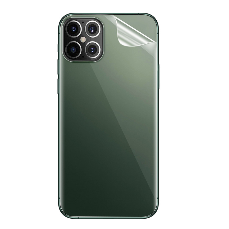 アップル アイフォン12 メーカー在庫限り品 12ミニ 12プロ 12プロマックス 用の保護フィルム シェル保護フィルム 背面シールド 保護フィルム 保護 衝撃 Pro Apple mini 12 Max バックフィルム シート iPhone12 背面保護フィルム 保護フィルムステッカー 傷 超歓迎された
