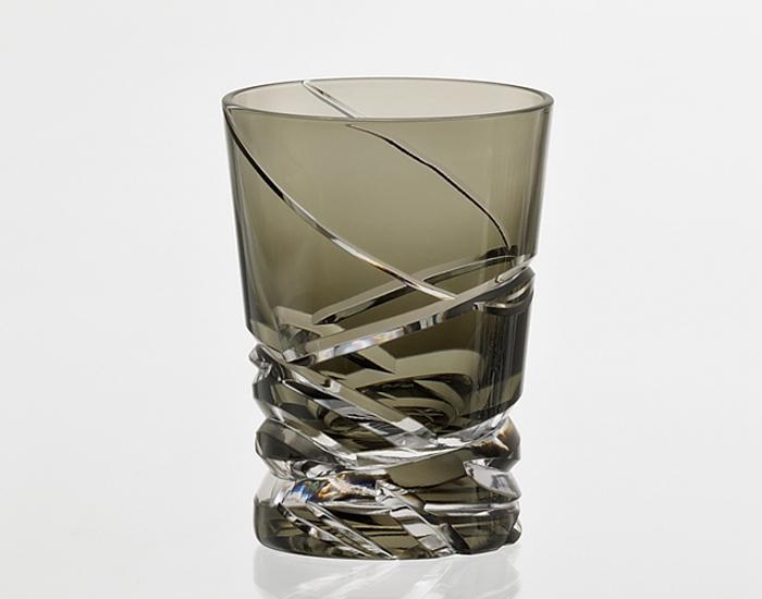 カガミクリスタル 日本製【カガミクリスタル ロックグラス T3252-2817-BLK】マイグラス ロックグラス オールドファッション 焼酎グラス ご贈答 ギフト プレゼント 父の日 敬老の日