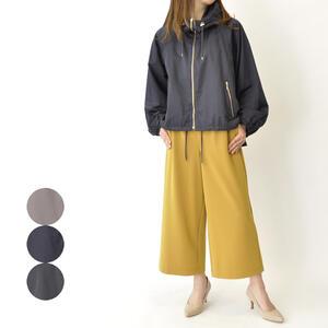 ショートジャケット ジップジャンパー カジュアル ブルゾン 女性 レディースファッション 秋物 冬物 お洒落 30代 40代 【送料無料】