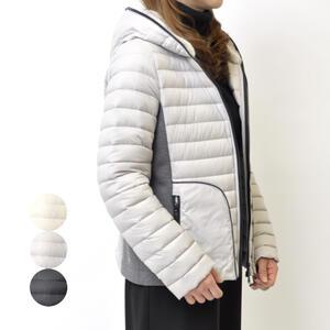 CEST MOI セモア ショートダウンコート フード付き ミセス 婦人 冬物 ファッション 40代 50代【ホワイト/グレー/ブラック】【送料無料】