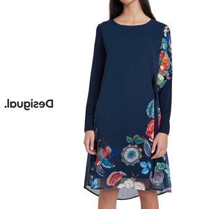 【保証書付】 Desigual デシグアル レディース ミセス ファッション チュニック チュニックワンピ Tシャツ トップス プルオーバー 長袖 花柄 30代 40代 50代【ブラック】【M/L/XL/大きいサイズ】【完売商品】, まさや 6ac6d697