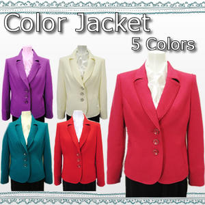 Boutique Koran Blazer Jacket Size 9 11 Color Cherry Pink White