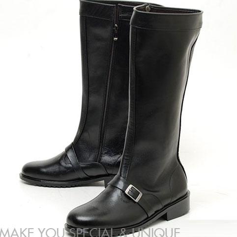 送料無料 本革ブラックロングブーツ メンズ ロングブーツ long boots 本革 ベルテッド ブーツ メンズ エンジニアブーツ ロングブーツ 本革 手作り シューズ メンズ 靴 くつ 手作り ブーツ メンズ シューズ ロングブーツ メンズブーツ VOCE