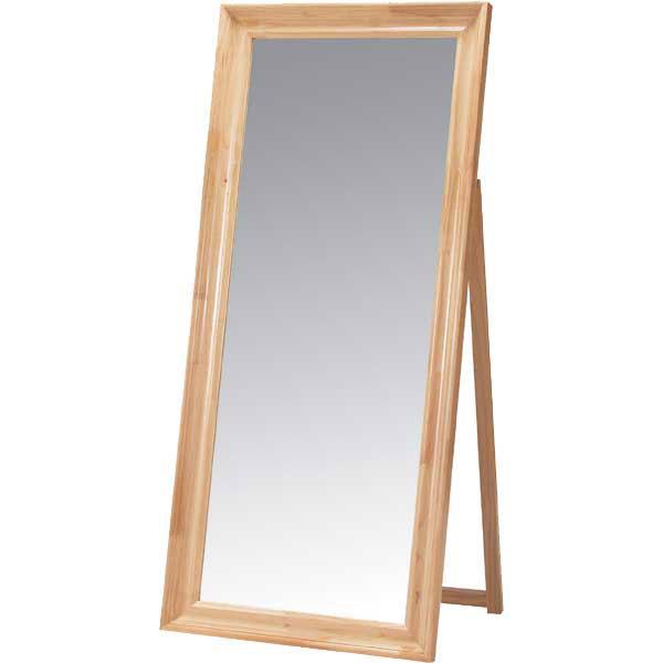 【送料無料】【天然木】スタンドミラー/スタンドミラー 鏡 姿見 全身姿見 ミラー 鏡台 玄関ミラー スタイルミラー スタンド式 玄関 ダイニング リビングダイニング おしゃれ シンプル デザイナーズ かわいい